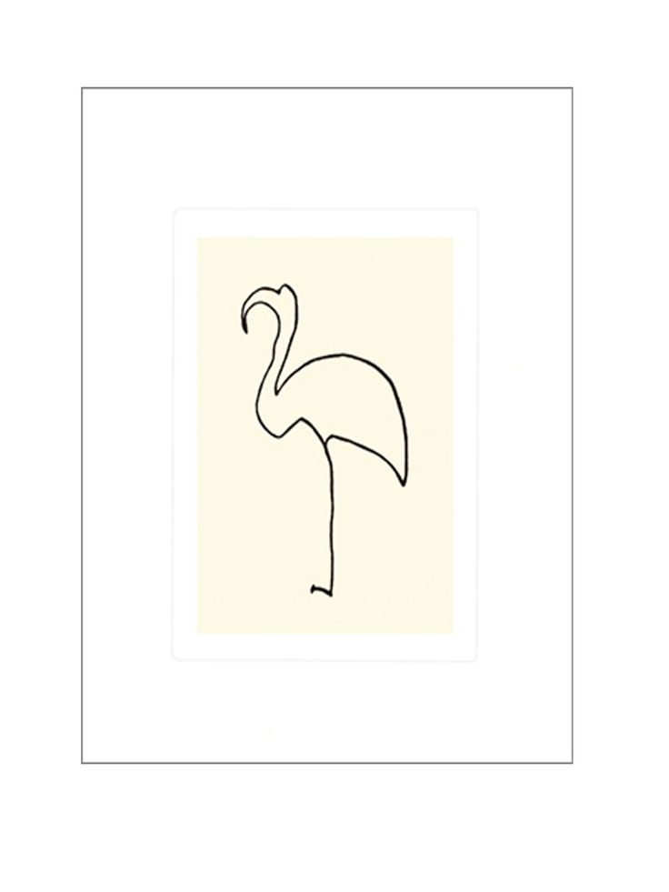 Pablo Picasso's one line drawings.