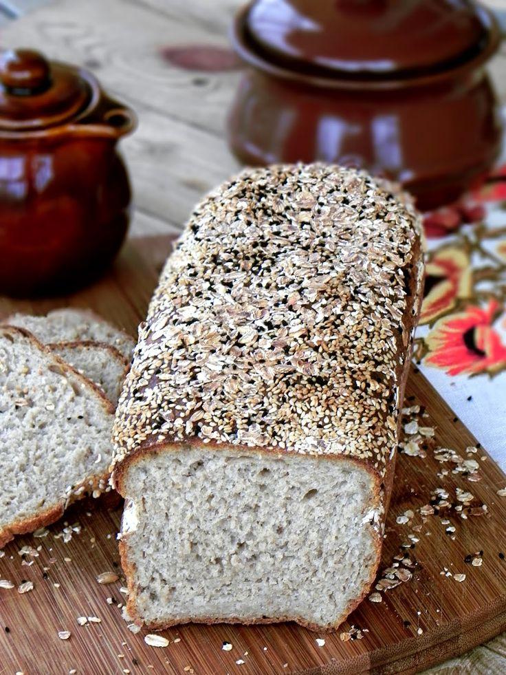 Fabryka Kulinarnych Inspiracji: Chleb na owsiance