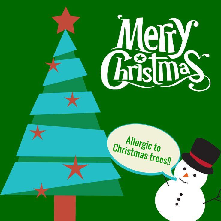 Put that Christmas Tree away, esp if you're sneezing! http ...