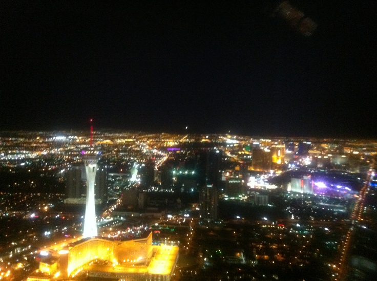 Las Vegas in a Helicopter
