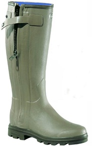 Le Chameau Chasseur Neo Ladies Boots - Le Chameau neoprene lined ladies zip boots for winter #Bestinthecountry