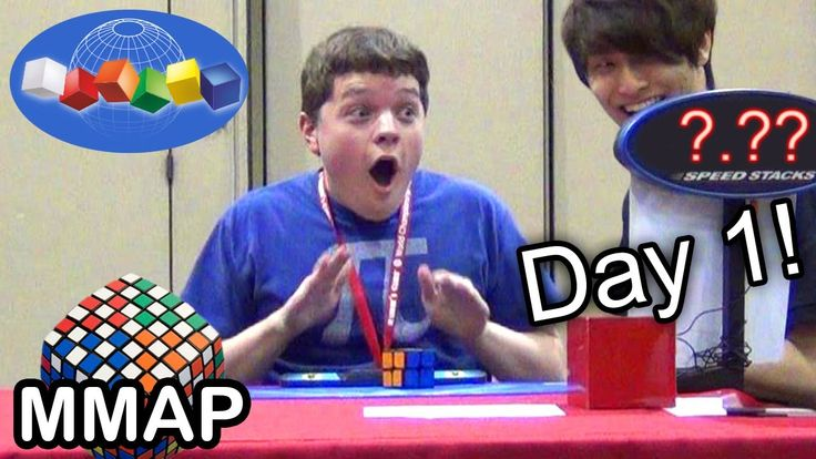 2013 Rubik's Cube World Championship: Day 1!
