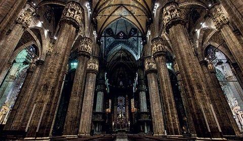 Una nuova illuminazione a Led nel Duomo di Milano - Illuminotecnica.com