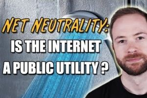 PBS Idea channel examines net neutrality and argues that it's a public utility. Mike Rugnetta is the host of the show.