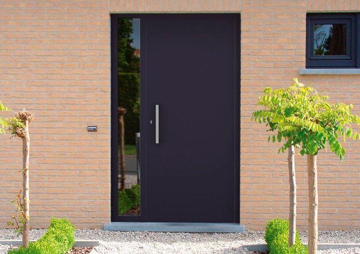 Voordeur of veiligheidsdeur Liso is geschikt voor de klassieke en moderne woning.