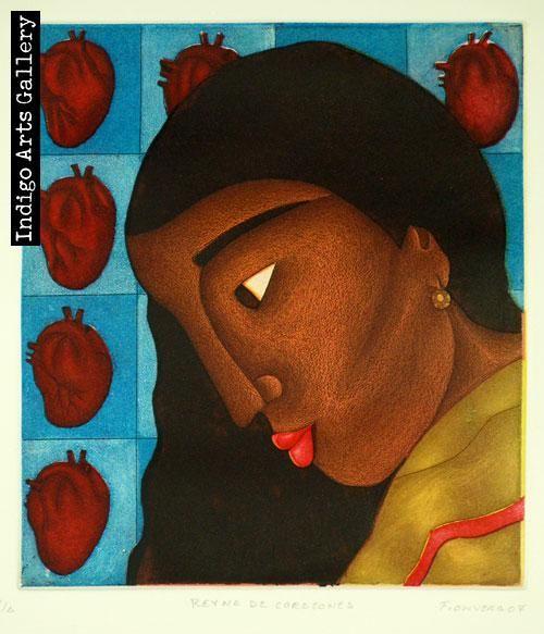"""""""Reyna de Corazones""""  (Queen of hearts) - Fernando Olivera (Mexico)"""