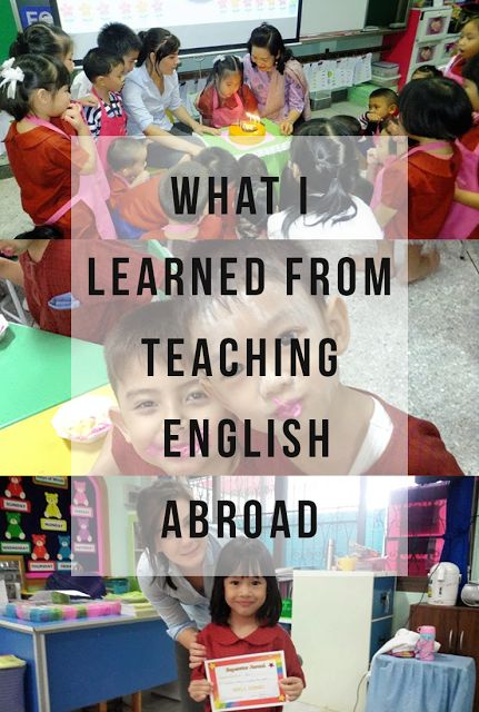 What I Learned From Teaching English Abroad - Life by Laura