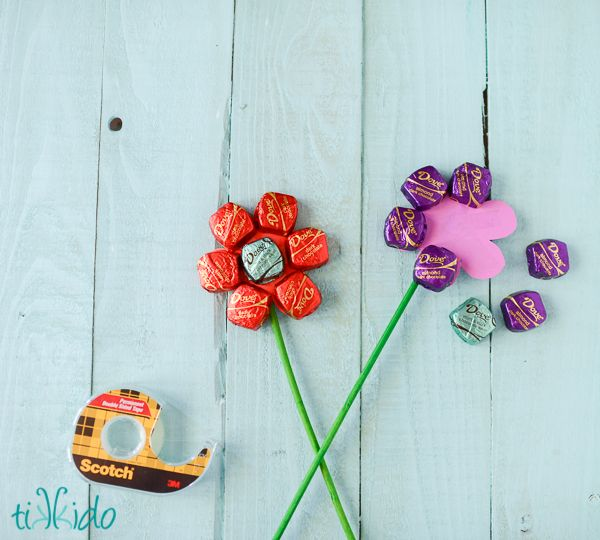Hometalk | Easy Mother's Day Spring Chocolate Bouquet