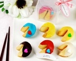 Customised Fortune Cookies - dipped