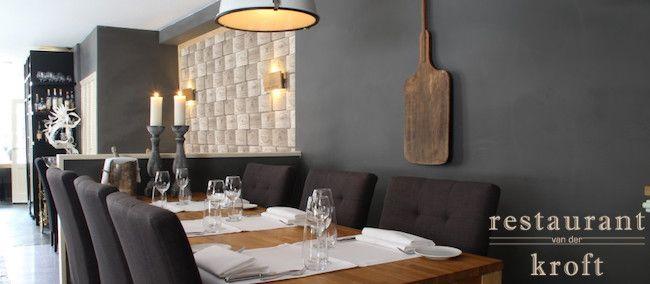 Restaurant van der Kroft heeft een Franse keuken, beïnvloed door de moleculaire, de Nederlandse, de Italiaanse en zelfs een beetje door de Oosterse keuken.   2e 4-gangen menu van de chef GRATIS bij Restaurant Kroft in Hoorn via BookDinners! Culinair genieten doe je hier!