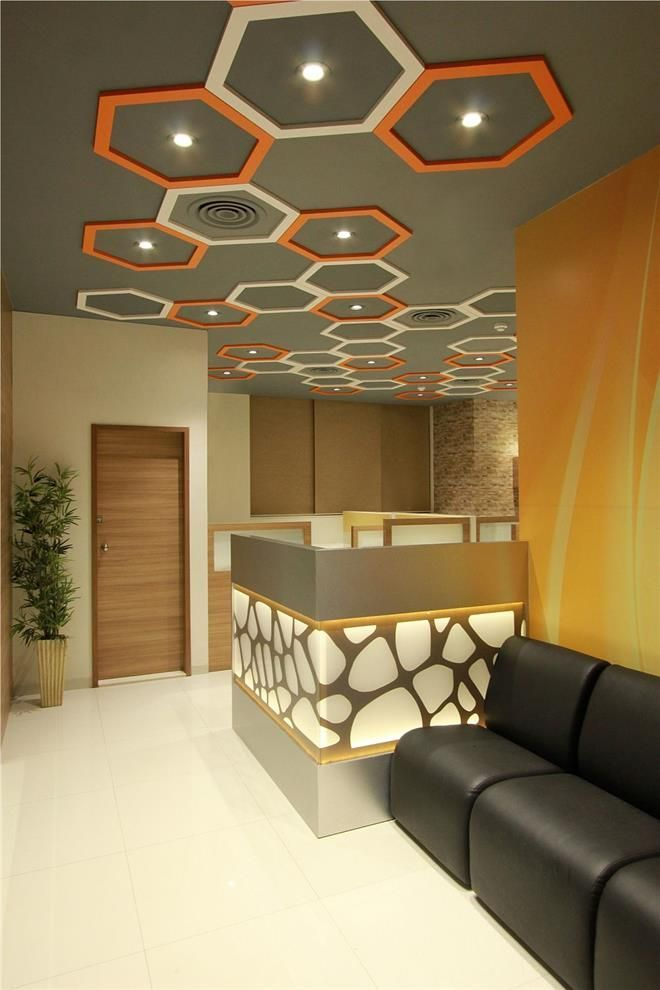 Ceiling Design Modern Entrance
