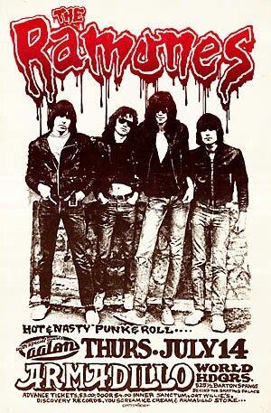 Ramones in Austin, Texas