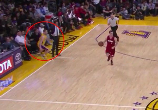 Marcelo Huertas Pulls Off The Sneakiest Play In The History Of Basketball