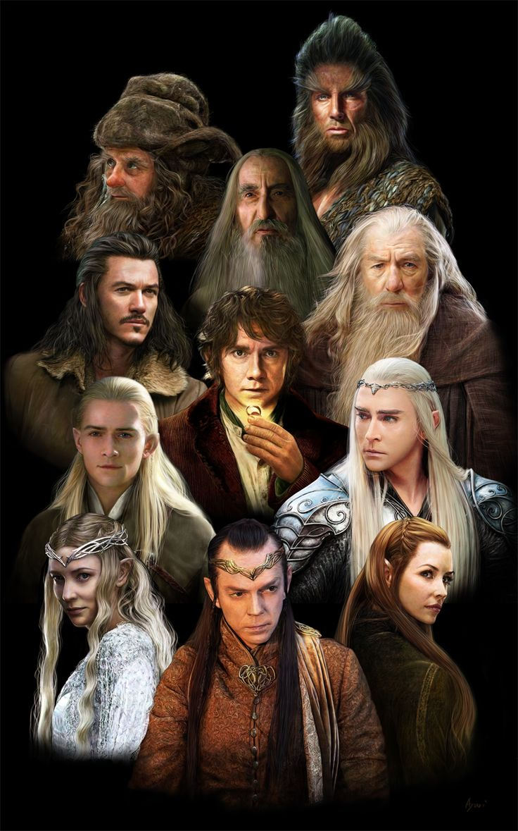 The Characters Of The Cups: Middle Earth Characters By Soukist