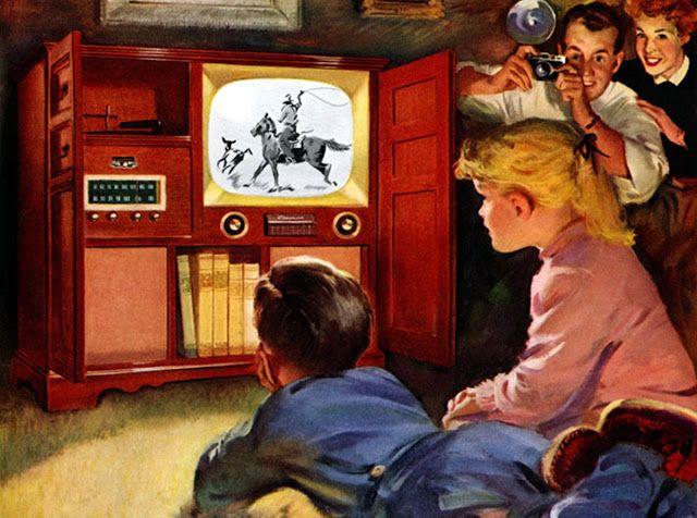 TV A LENHA E O VIAJANTE DO TEMPO