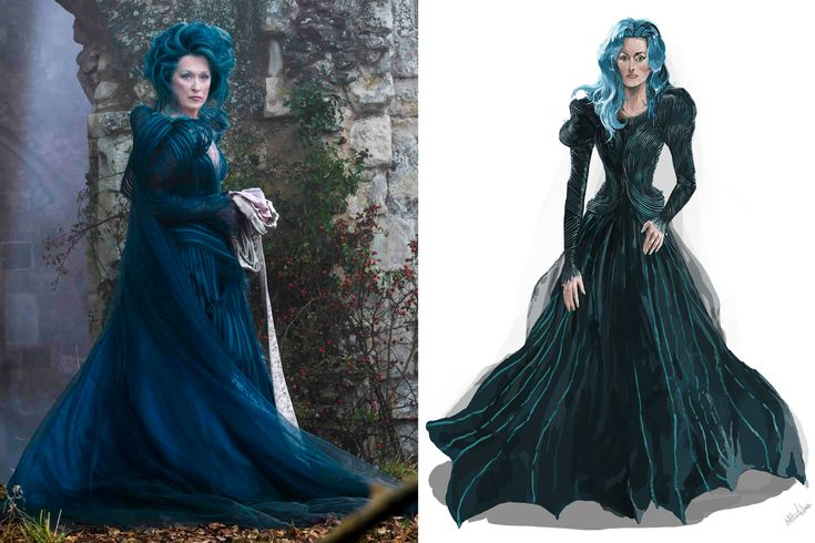 Inside Meryl Streep's Glam Into the Woods Makeover, and Colleen Atwood's Other Fairytale Costumes | Vanity Fair