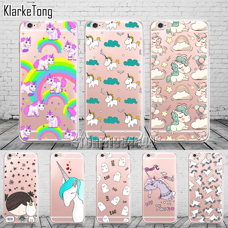 US $2.10 -- AliExpress.com Product - Cell Phone Cases for Iphone 6 plus new arrival cute Unicorn Case Cover for iphone6 6s 5 5s se 7 soft silicone coque fundas