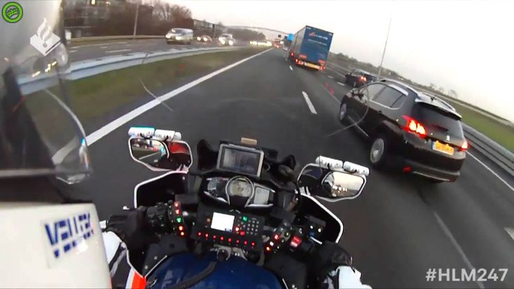 SPECTACULAR FOOTAGE FROM A MOTORCOP! - ESCORTING AMBULANCE #1