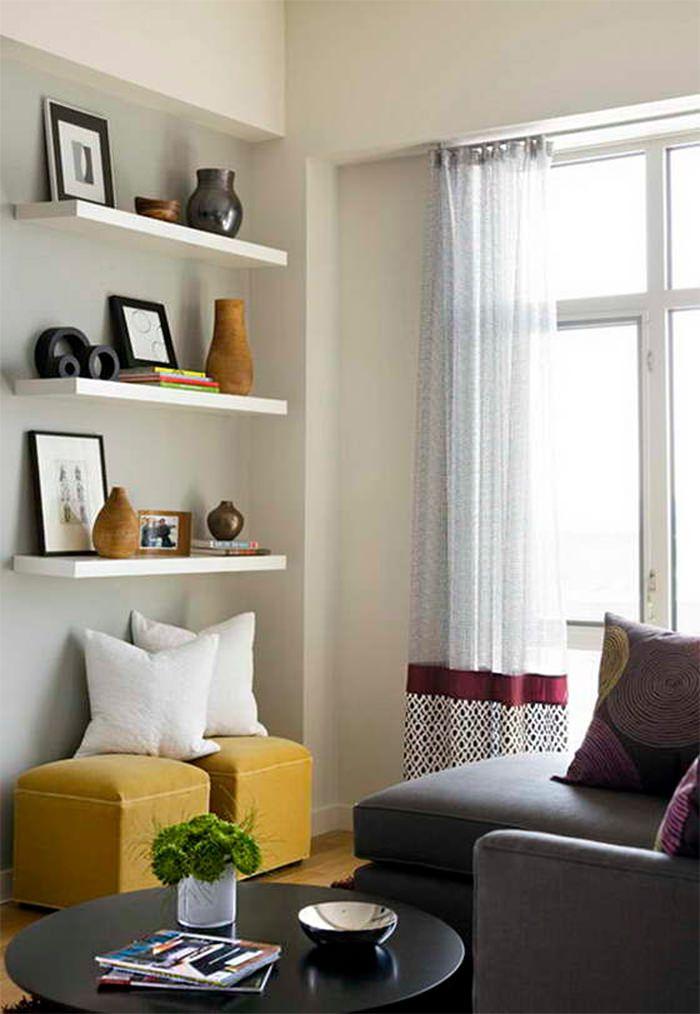 7 Dicas De Decoração Para Quem Está Alugando. Modern Family RoomsLiving ... Part 52