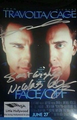 FACE-OFF-AUTOGRAPHED-JOHN-TRAVOLTA-AND-NIC-CAGE-8-10-RP-LUSTRE-PHOTO