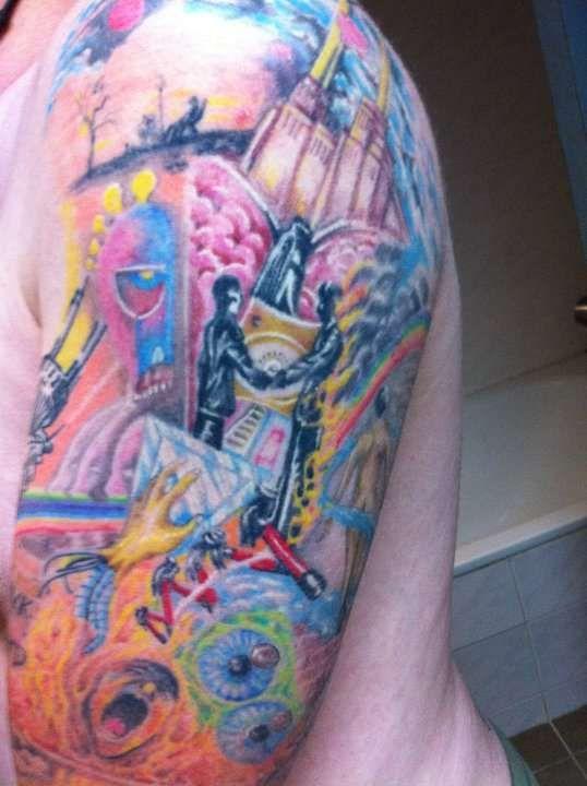 Pink Floyd Heartbeat Tattoos