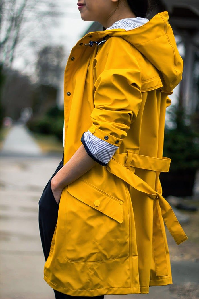 Yellow Raincoat - Fast Food & Fast Fashion | a personal style blog