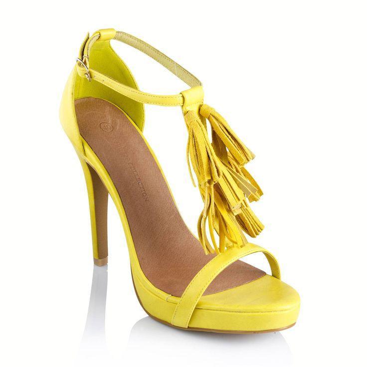 Chaussure Jaune Femme Femme Talon Chaussure Jaune rdtQCxhsB