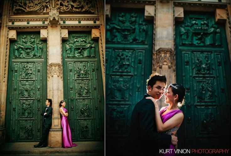 Joel & Janice Pre Wedding Portraits in Prague by Luxury Fine Art Wedding & Portrait Photographer Kurt Vinion