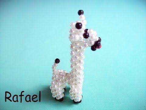 Passo a Passo Cachorro de Miçangas - YouTube