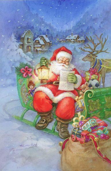 Die besten 17 ideen zu antike weihnachtsm nner auf - Niedliche weihnachtskarten ...