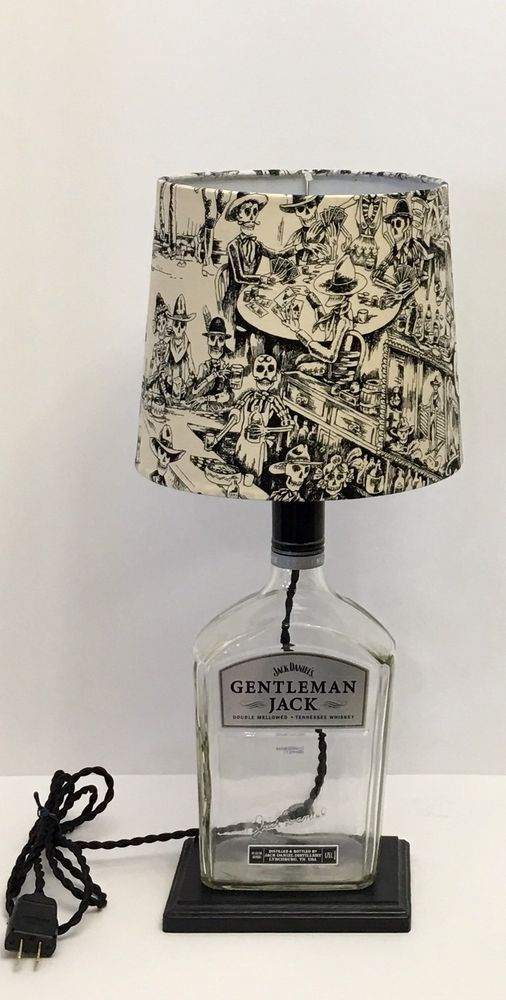 Recycled Jack Daniels Gentleman Jack Bottle Lamp   | eBay