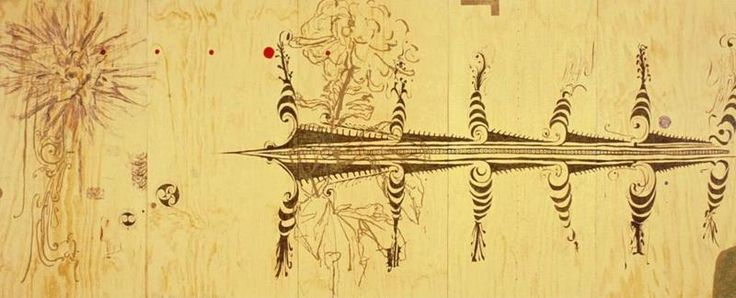 John Reynolds (born 1956), Raft of the Medusa 1992 mixed media on plywood, 2400 x 6000mm Auckland Art Gallery Toi o Tāmaki Gift of the Patrons, 1993