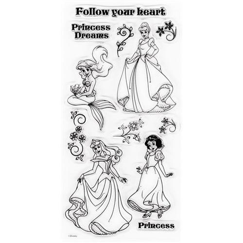 Disney Princess by EK Success (clear stamp set).