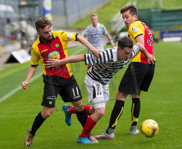 Queen's Park's David Galt in action during the Betfred Cup game between Partick Thistle and Queen's Park.