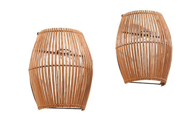 Una dupla lumínica que aporta tradición. #Artesanía #Chimbarongo #OrgullososDeLoNuestro
