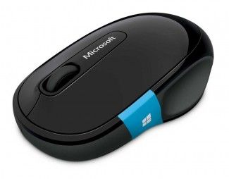 The Microsoft Sculpt ergonomic mouse is designed to encourage comfortable body postures while using it.  It looks comparatively larger and taller than the current ones available in the market. The height is said to help minimize the incident of carpal tunner pressure as your hand does not touch the desk. The device also has a dedicated Windows button, so you can access the Windows 8 Start screen conveniently.