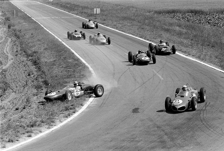 Reims 1961 et le vainqueur ; Baghetti sur Ferrari pour sa première course en F1 !!
