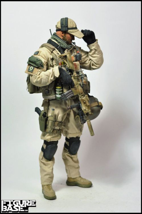 U.S. Navy SEAL Team 3 uniform/kit Afghanistan circa 2006