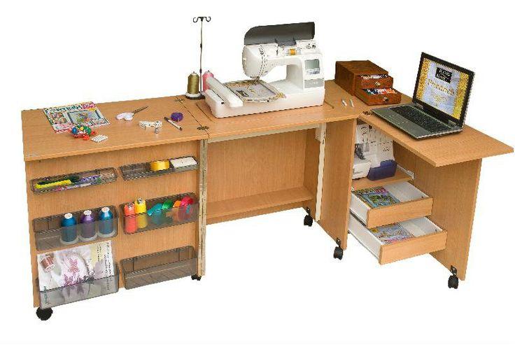 Стол для швейных машин комфорт-5L+ #текстильторг #мебель #шитье #оверлок #швейнаямашина #стол