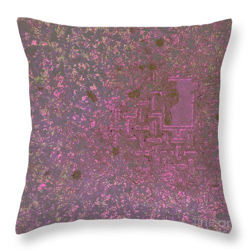 Patterns In The Lawn Throw Pillow by Sverre Andreas Fekjan.  Our throw pillows are made from 100% spun polyester poplin fabric and…