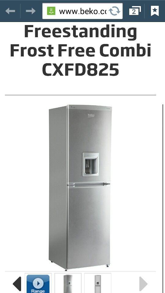 New fridge freezer