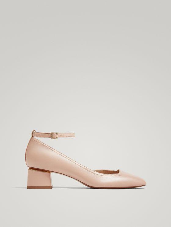 Pulsera Mujer Zapatos Nude De Salón Desde Ver Piel Todo Zapato UVSpMz