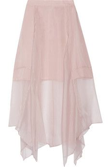 Marissa Webb Yasmin silk organza skirt