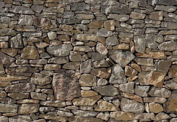 stone wall komar noordwand stenen muur fotobehang 8NW-727