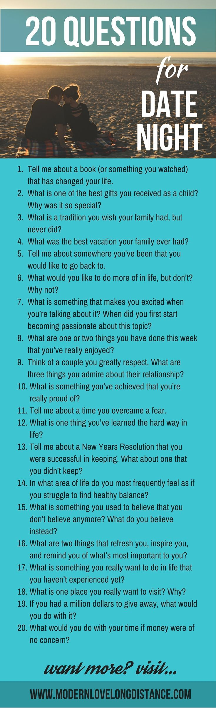 20 questions about dating and relationships