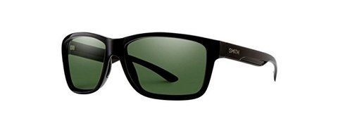 Smith Optics Drake Sunglasses, Black Frame, Gray Green Chromapop+ Polarized Lens