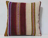 16 x 16 needlepoint pillows DECOLIC coussin kilim euro pillow cover bohemian pillows orientalische sitzkissen red 14181 kilim pillow 40 x 40