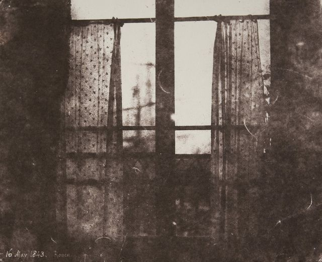 wow! William Henry Fox Talbot, Rouen, 16 May 1843, France