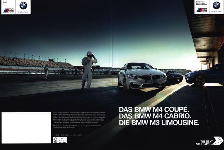 https://flic.kr/p/RaUYat | BMW M4 Coupé. Das BMW M4 Cabrio. Die BMW M3 Limousine. 2016