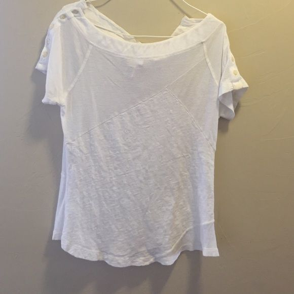 Diesel top White diesel top with lots of detail. Diesel Tops Blouses